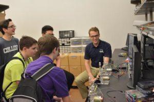 Rice University haptic paddle servo drive lab