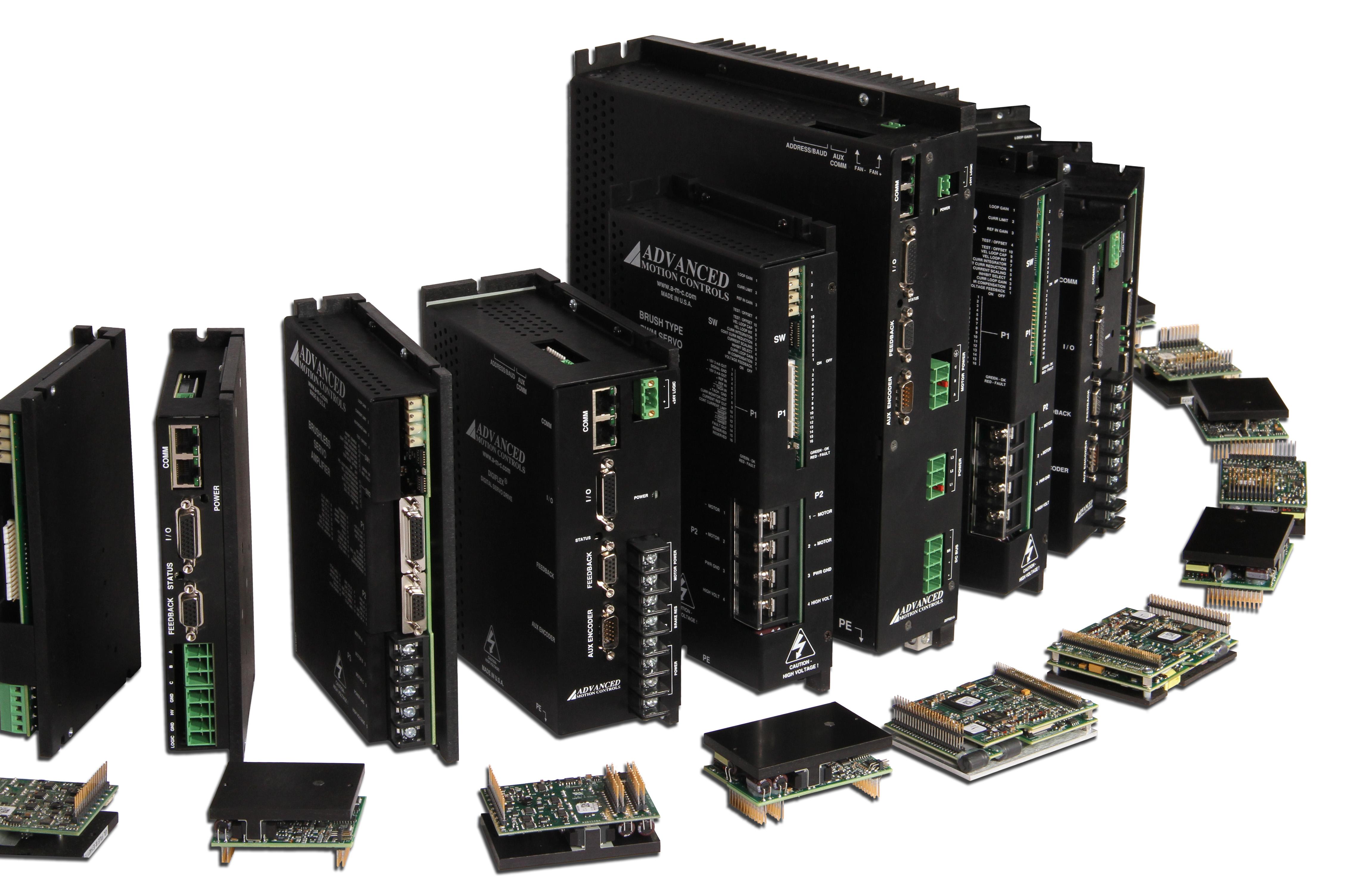 analog and digital servo drives