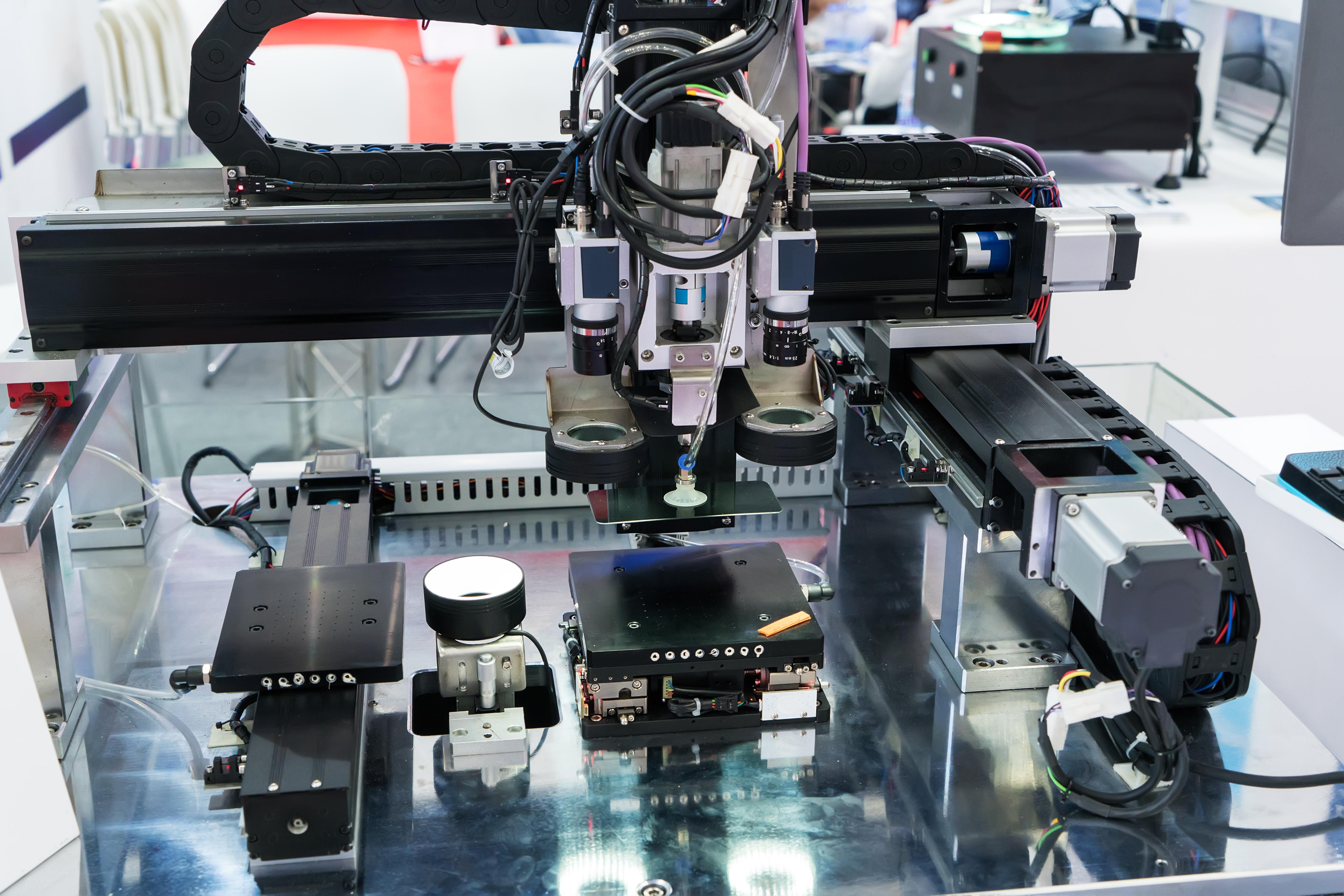 small gantry system with servo motors