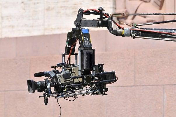 servo drive stabilized camera