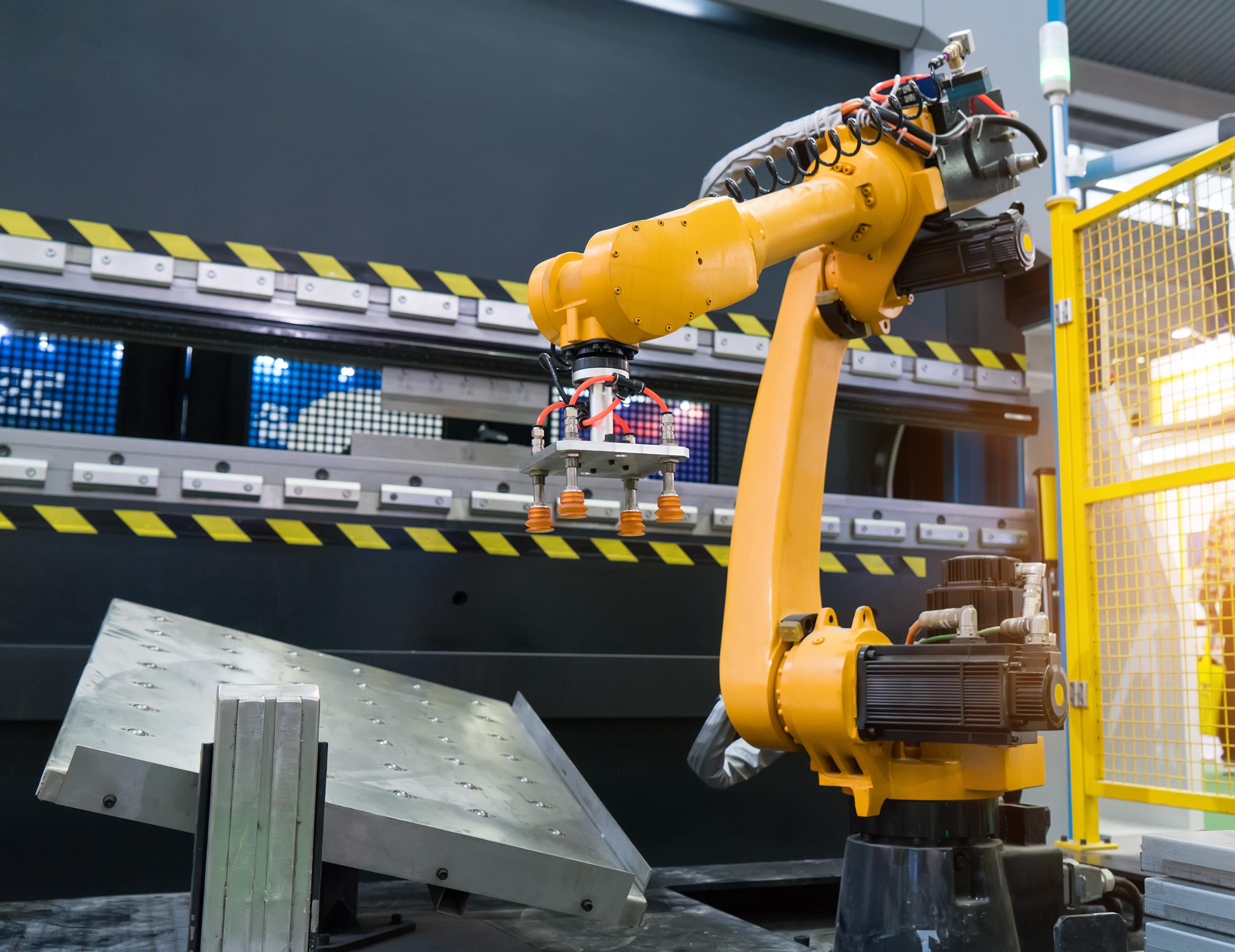 robot arm mode switching