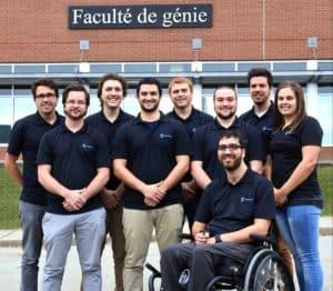 EXodus team at the Universite de Sherbrooke
