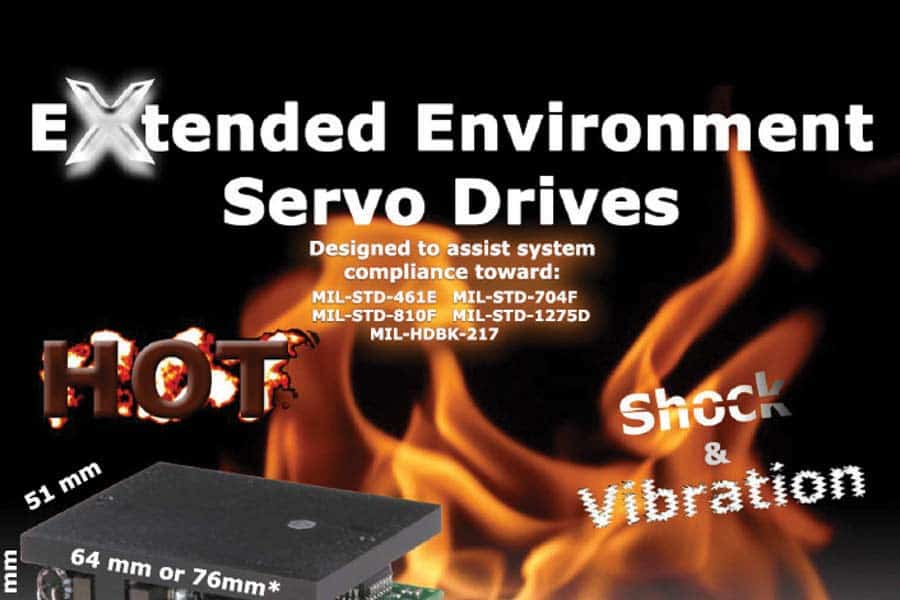 Extended Enviornment Servo Drives