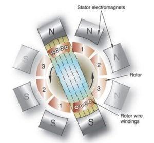 AC Induction Motor Diagram