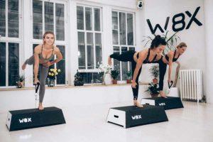 W8X servi driven exercise platform
