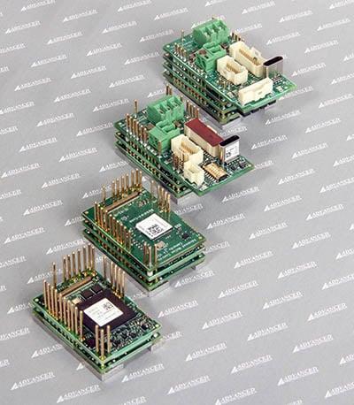 FlexPro Servo Drive PCB and machine mount group