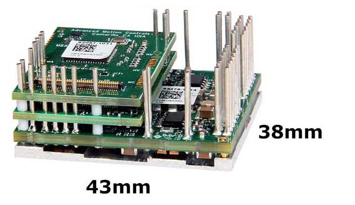 mini size flexpro digital servo drive