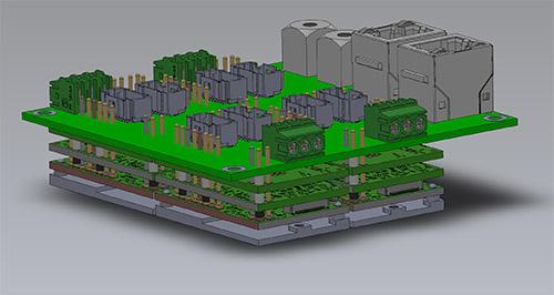 multi-axis FlexPro servo drive concept