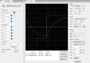 Velocity loop digital servo drive tuning