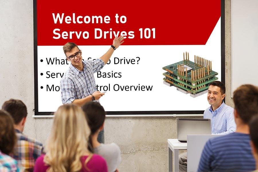 Classroom presentation of Servo Drives 101